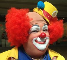 Kramer was a little afraid of clowns ... are you?