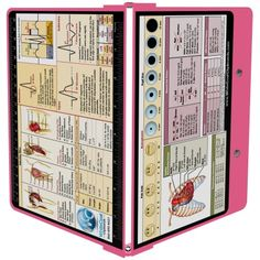 *WhiteCoat Clipboard - PINK - Nursing Edition with extras: WhiteCoat Pen Clip, WhiteCoat Clipboard Band