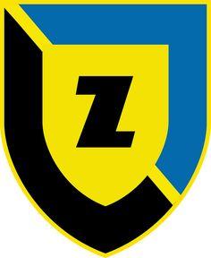 WKS Zawisza Bydgoszcz Spółka Akcyjna (Zawisza Bydgoszcz) | Country: Polska / Poland. País: Polonia. | Founded/Fundado: 1946 | Badge/Crest/Logo/Escudo.