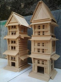 Popsicle Stick House