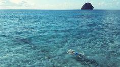 "Repost from Instagram ! #WeLike ! #Madinina by @juldamoiseau ""Home sweet home 14/x just swim  #martinique #madinina #beach #sea #swim #holidays #ig_martinique #ig_caribbean #igers #igersfrance #vsco #vscogrid #vscogood #vscocam #blue #diamant #diamondrock #alone #water"" http://ift.tt/21uK4Th"