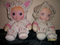 jammie pies dolls- wish I could find one new for Julia!