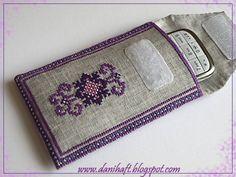 Cross stitch - etui danihaft.blogspot.com