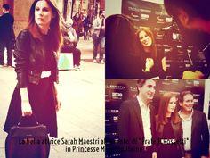 L'attrice Sarah Maestri alla presentazione di Fratelli Rossetti in Princesse Metropolitaine