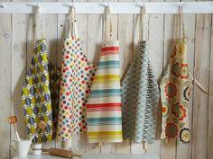 Ulster Weavers - geplastificeerde schorten - Dames van de Thee