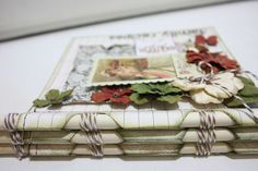 """It's a """"Family Recipe"""" Mini Book from our Thanksgiving Blog Hop with Authentique!"""