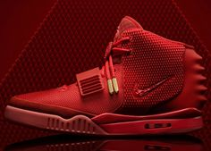 Nike Air Yeeze. Pure red!