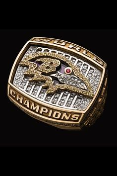 Shop NFL: America's Game 2000 Baltimore Ravens Super Bowl XXXV [DVD] at Best Buy. Find low everyday prices and buy online for delivery or in-store pick-up. Nfl Championship Rings, Nfl Championships, Ravens Game, Steelers Super Bowls, Super Bowl Rings, New Details, Colored Diamonds, Cool Things To Buy