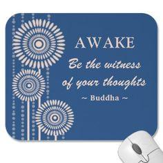 Buddha Quote Mousepad mousepad