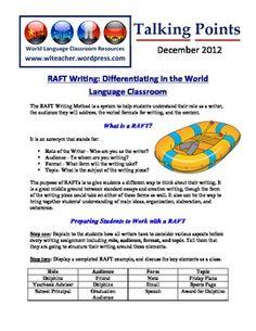 World Language Classroom Teaching Professional Development Newsletter for Foreign Language Teachers  (12/2012)