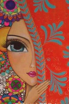 ✔ Fashion Drawing Face Eye