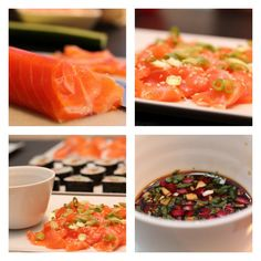 Vis innlegget for mer. Snack Recipes, Healthy Recipes, Healthy Food, Sashimi, Bon Appetit, Main Dishes, Seafood, Food And Drink, Dinner