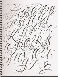 Discover recipes, home ideas, style inspiration and other ideas to try. Cursive Fonts Alphabet, Tattoo Lettering Alphabet, Tattoo Lettering Design, Tattoo Fonts Cursive, Chicano Lettering, Lettering Guide, Graffiti Lettering Fonts, Hand Lettering Fonts, Graffiti Alphabet