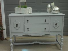 Vintage buffet / console table in Paris by PieceLoveandVintage, $395.00