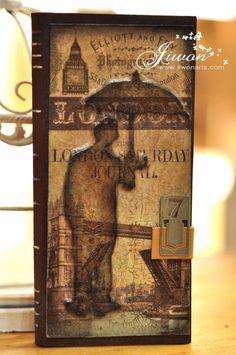 Jiwon Crafts Blog: Umbrella Man