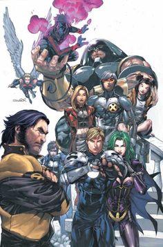 Havok, Lorna, Juggernaut, Jubilee, Nightcrawler, Angel, and I believe Northstar and Magma