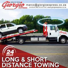 24 hour towing and roadside assistance | Giorgio Express Auto Body Repair, Special Promotion, How To Plan