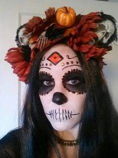 Dia de los Muertos (the Day of the Dead) sugar skull
