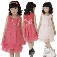 vestidos de moda para niña de moda ropa para niños