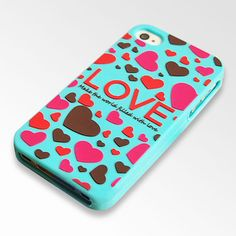 Love Hearts Case for iPhone 4/4S