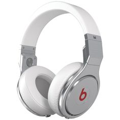 Monster Beats Pro High-performance Headphones (white)