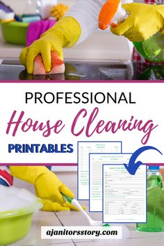 CUSTOMER PROFILE WORKSHEETS.  Collect all the right information for each of your house cleaning customers. FREE PRINTABLE   House cleaning business forms even if you're just starting a residential maid service.  #ajanitorsstory #housecleaningbusiness Cleaning Service Flyer, Cleaning Flyers, Cleaning Services Company, Cleaning Companies, House Cleaning Prices, House Cleaning Tips, Diy Cleaning Products, Professional House Cleaning, Cleaning Business