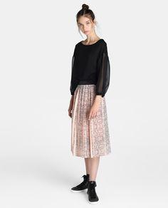 06082c82c Las 8 mejores imágenes de falda midi en 2017 | Atuendo con falda ...