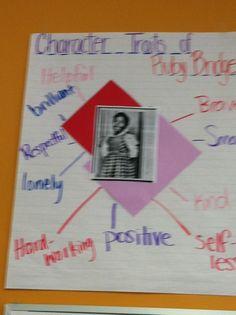 Character Traits of Ruby Bridge 2nd Grade Activities, Snow Activities, Classroom Fun, Future Classroom, Common Core Reading, Character Trait, Reading Workshop, School Lessons, Grade 3