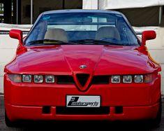 The Alfa Romeo SZ / RZ (Sprint Zagato) or ES-30 is a high-performance limited-production sports car built in 1989–1991 (SZ) 1992–1994 (RZ)