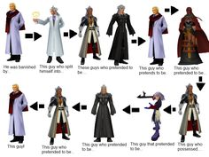 Kingdom Hearts logic. What confuses me is... Are some of them repeated?
