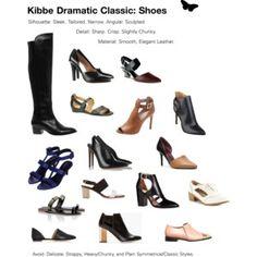 Kibbe Драматический Classic: обувь