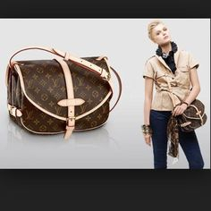 Louis Vuitton Saumur Mm Crossbody Leather Buckle a596bd838e6