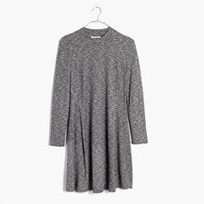 Cityblock Mockneck Dress - HTHR GRAVEL