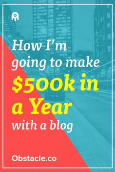 We all know you can make money with blogs, but how do you make the type of money that will allow you to control your lifestyle? Let's find out.