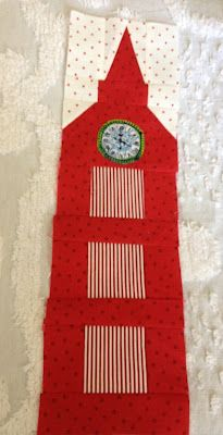 a must for their room. Freda's Hive: London 2012 Quilt