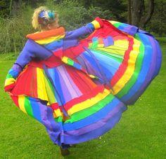 rainbow elf coat.