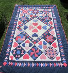 Dutch quilt Souvenir de ma vie