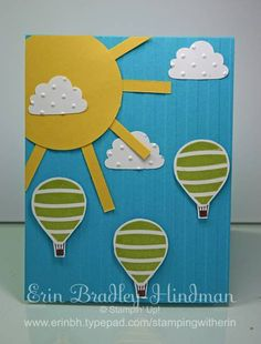 Sunshine & Balloons by erinbh - Cards and Paper Crafts at Splitcoaststampers