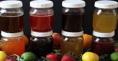 8 domácích receptů na ovocno-bylinkové sirupy bez vaření