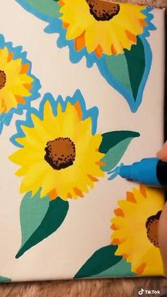 Posca Marker, Marker Art, Posca Art, Positive Art, Guache, Diy Canvas Art, Pen Art, Paint Pens, Doodle Drawings