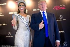 Donald Trump 'invited ex-Miss Hungary to his Moscow hotel room in 2013 after the Miss Universe pageant' even though he was married to Melania