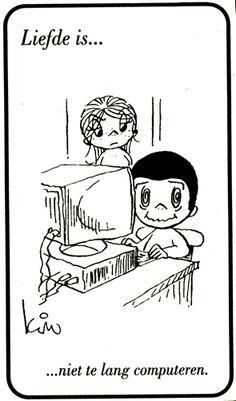 Liefde is...niet te lang computeren.