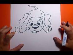 Como dibujar un perro paso a paso 19 | How to draw a dog 19 - YouTube
