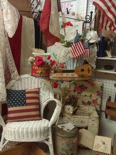 Garden Cat Vintage Booth #210 at Hermann Furniture, Brenham, TX