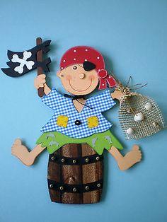 Fensterbild -Pirat-  kleiner Piratenjunge- Kinder - Dekoration-Tonkarton