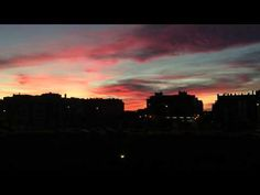 ▶ Atardecer en Sanchinarro - YouTube