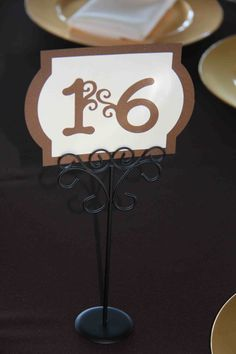 Fall colors table marker Wedding Table Markers, Place Cards, Place Card Holders, Wedding Ideas, Colors, Fall, In Living Color, Autumn, Colour
