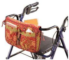 Wheelchair & Walker Carryall & Carrier Bag Sewing Pattern