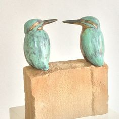 Wild Creatures, Ceramic Birds, Clay Projects, Bird Art, Wood Carving, Animals, Ideas, Products, Ceramic Pottery
