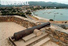 Fortín de La Galera, ubicado en lo alto de la bahía de Juan Griego. Porlamar, 03-04-2012   (ALEXNYS VIVAS / EL NACIONAL)